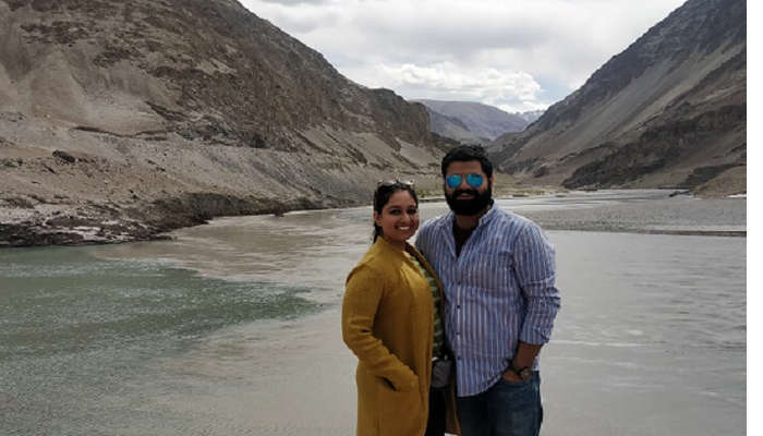 get the magnificent view of the Indus river