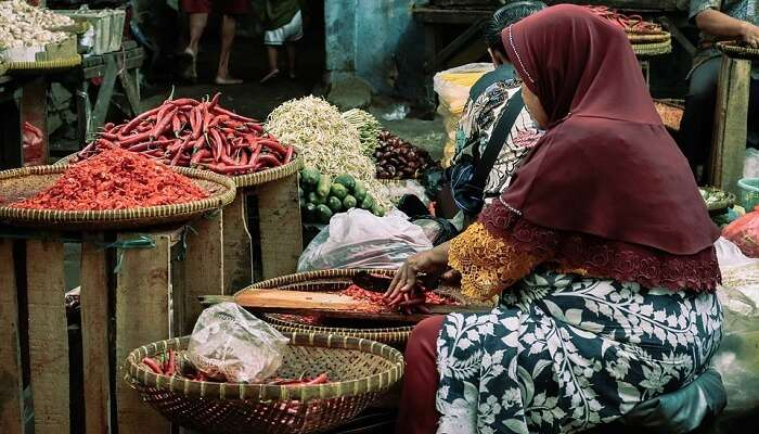 Badung and Kumbasari Traditional Market