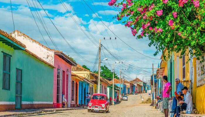 Küba'daki Trinidad Adası'nın canlı sokakları