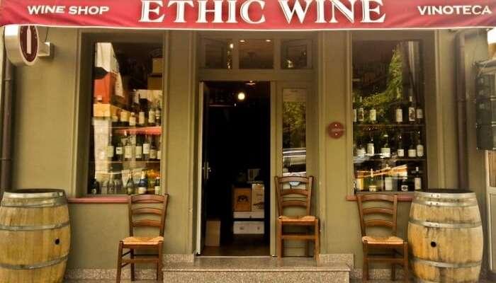 Ethic Wine bucharest