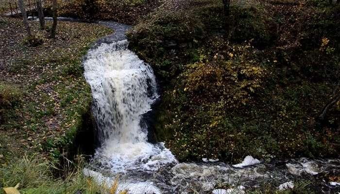 Langevoja Waterfall
