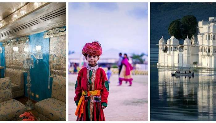 Explore the majestic palaces, vast deserts, lake palace, wildlife in Royal Rajsthan