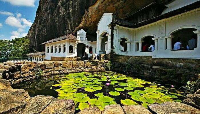 Dambulla Cave Temple in Sri Lanka