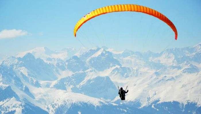 Paragliding In Kangra Valley