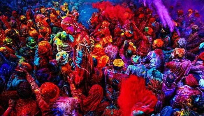 Holi Celebrations in Vrindavan