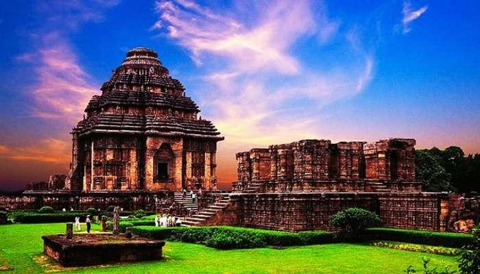 Konark Temple in Orissa