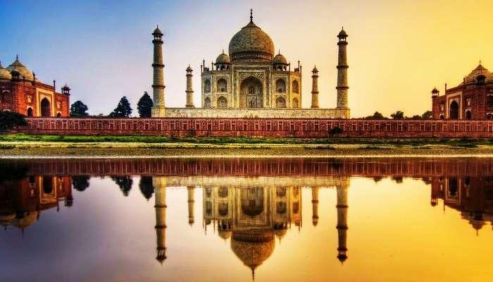 Symbol of Love - Taj Mahal in Agra