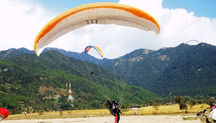 Bir Billing is the mecca for adventure sports