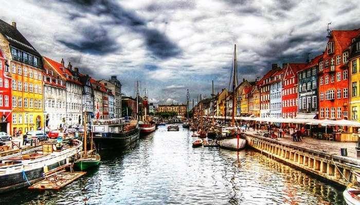 Danimarka'daki doğal ve renkli Kopenhag