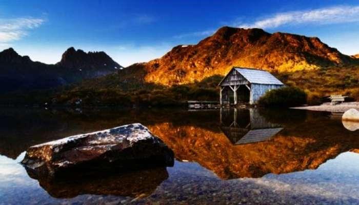Avustralya'daki pitoresk Cradle dağları