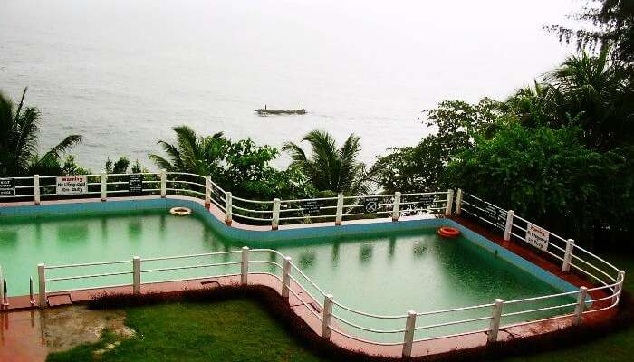 Swimming pool of Fortune Resort Bay Island