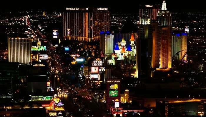 Las Vegas geceleri