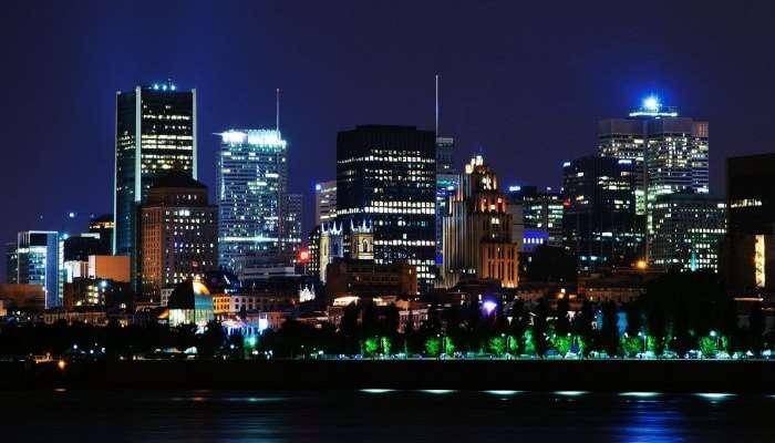 Montreal manzarası