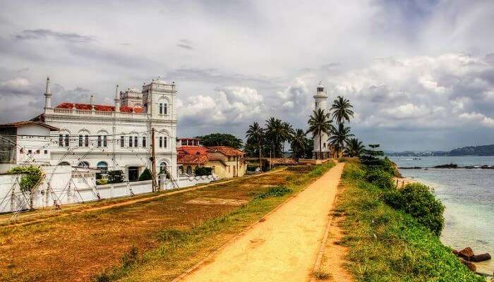 OldDutch Fort at Galle