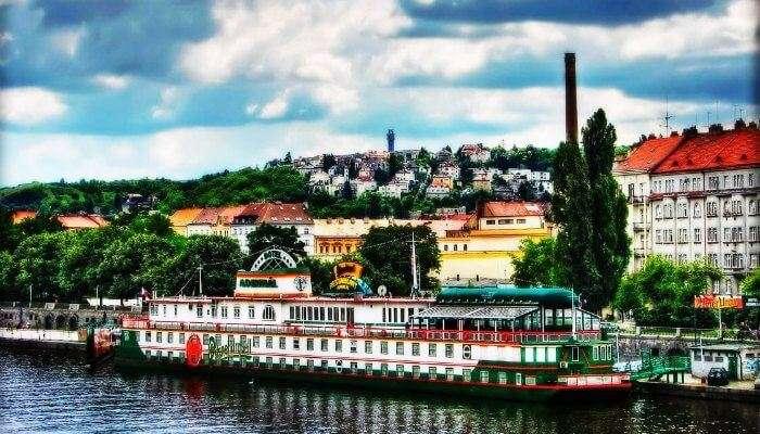 Pitoresk Prag şehri