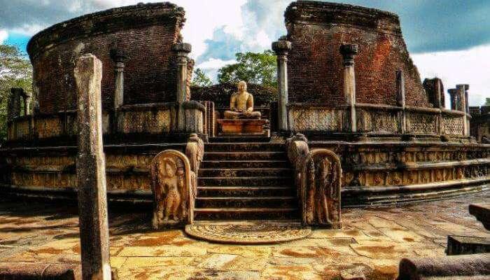 Ruinsof Polonnaruwa in Sri Lanka