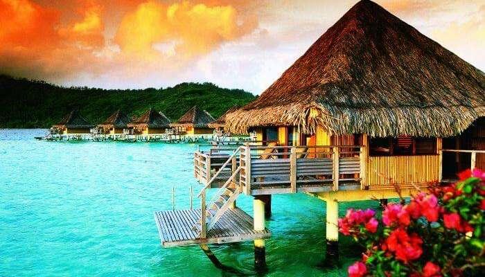 Dünyanın muhteşem ve en çok arzu edilen balayı destinasyonu - Bora Bora