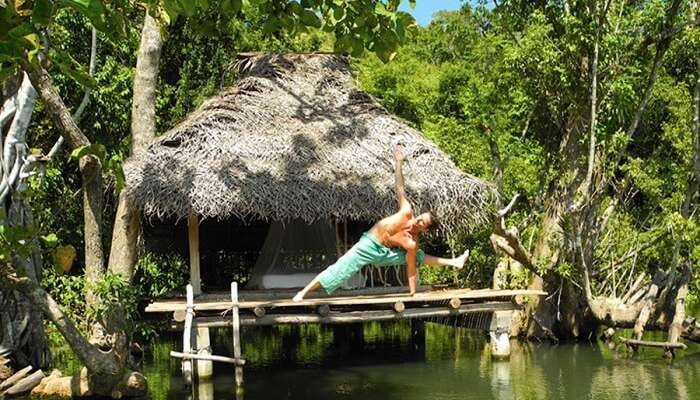 famousyoga retreat in Sri Lanka