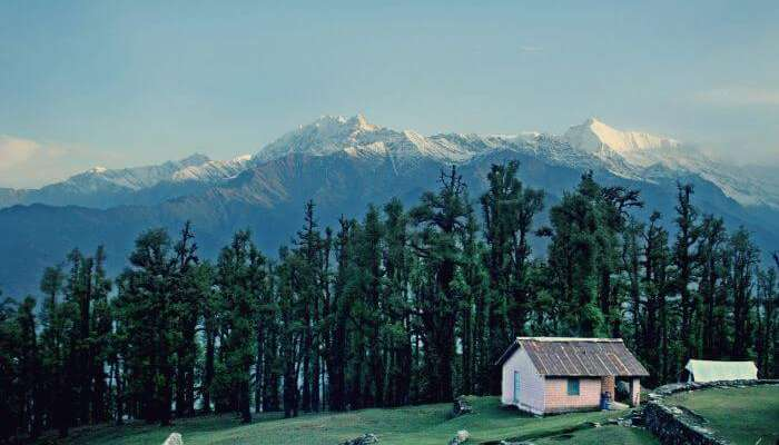 A small hut in the Yuksom - one of key places to see in Sikkim