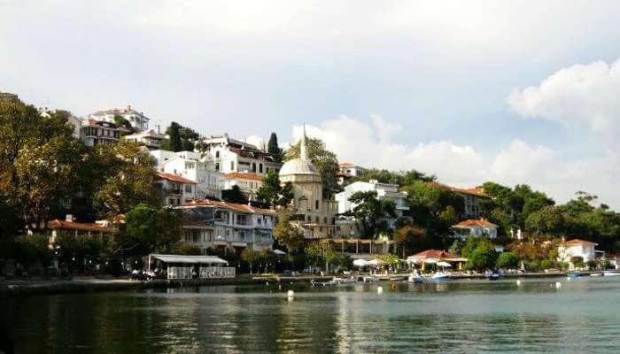 The beautiful Princes' Island in Istanbul