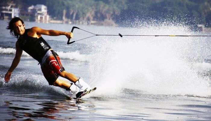 Image result for Water Skiing At Majorda Beach