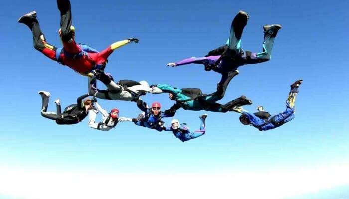 Skydiving In India: Top 5 Places For Flying In The Air In 2019