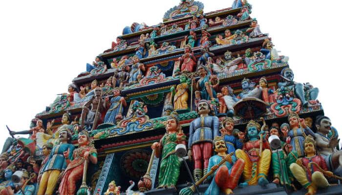 Sri Mariamman Temple in Singapore