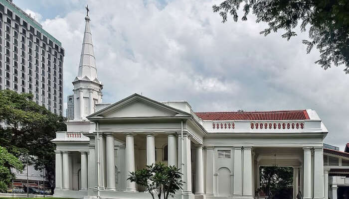 Armenian Church is the oldest church in Singapore