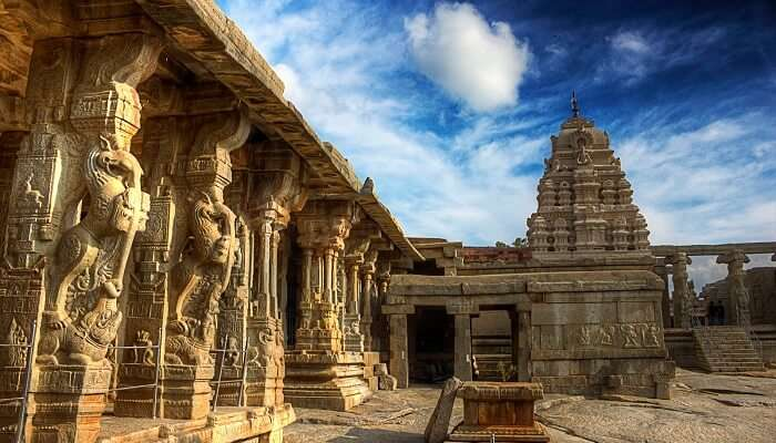 The beautiful temple in Lepakshi which is one of the top unexplored places in India