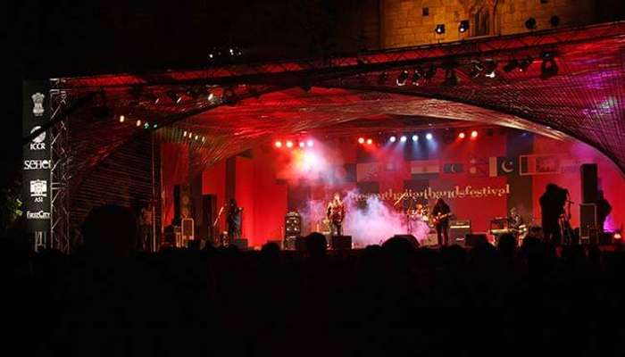 South Asian Band Festival at Purana Quila