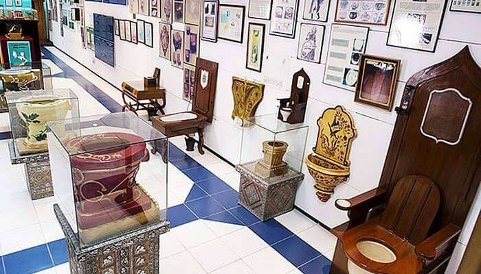 Sulabh International is the only toilet museum in India