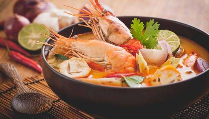 The delicious Thai cuisines in Pattaya