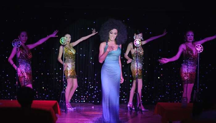 The shimmering nightlife of Phuket with its cultural shows