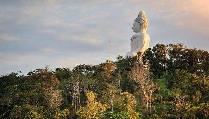 The Big Buddha at Phuket, a prominent spot for Phuket sightseeing