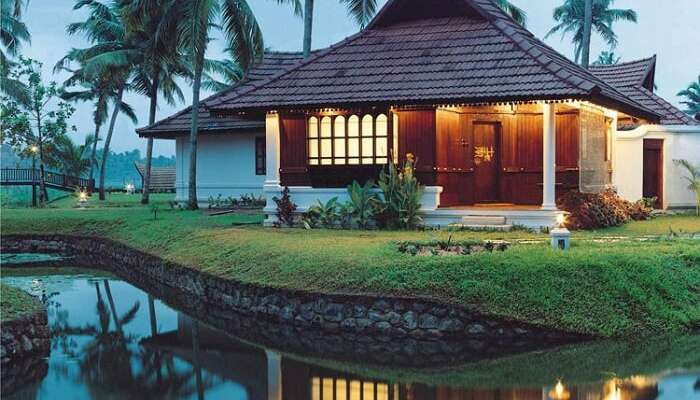 Heritage Villas at Kumarakom Lake Resort - one of the best resorts in Kumarakom