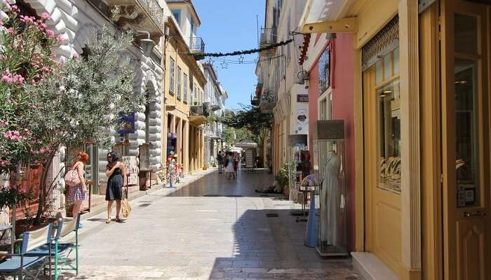 nafplio town of greece