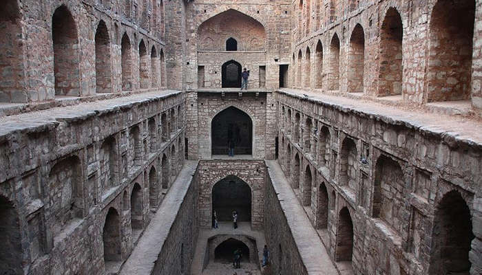 """10 """"Most Beautiful Places Of INDIA"""" That Prevent For Visitor In 2019 Agrasen ki Baoli in Delhi"""