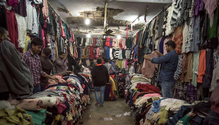 a shop in Sarojini Nagar Market