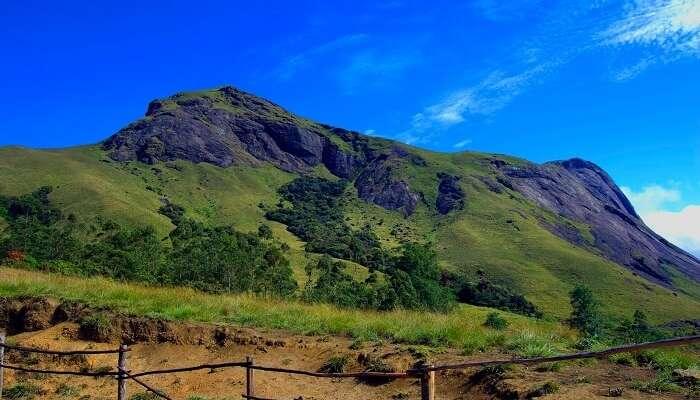 Amudi peak in Kottathavalam is one of the highest peaks in the state