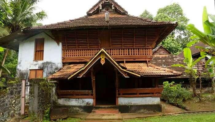 The beautiful heritage gracing the Poonjar Palace in Kottayam