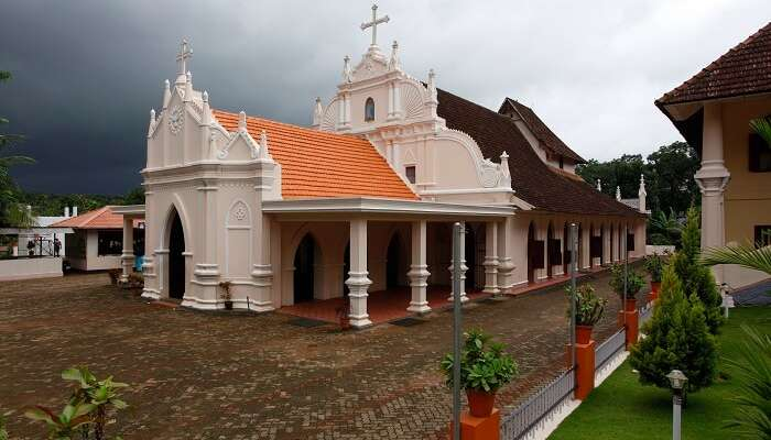 St. Mary's Orthodox Church is one of the oldest churches in Kerala