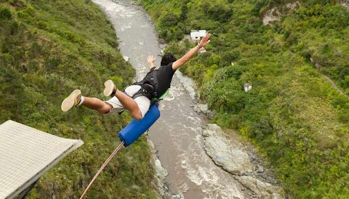 essay about past pace bungee jumping