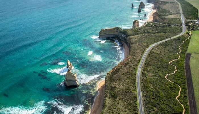 The Great Ocean Road of Australia is popular around the world