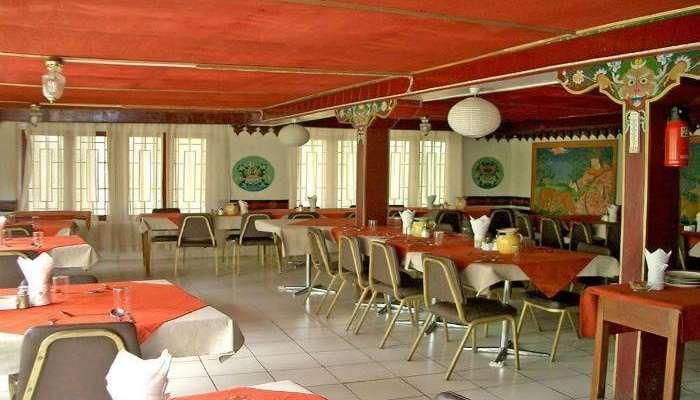 Restaurant of Hotel Shambhala