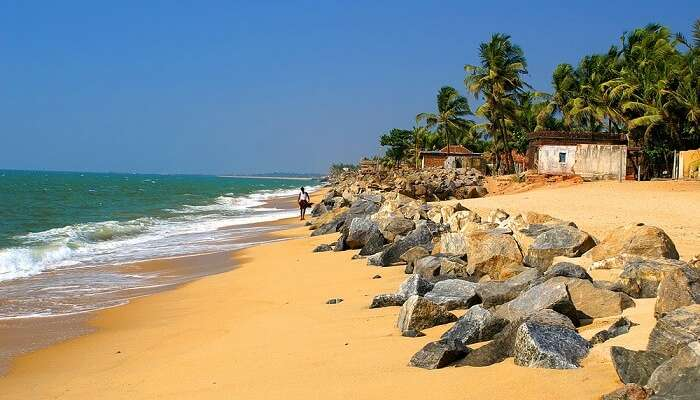 A sun-kissed beach of Mangalore - one of the most-favored tourist destinations in Karnataka