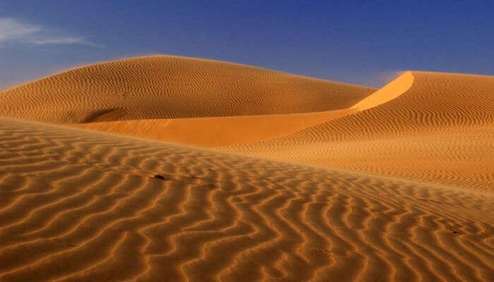 A snap of the sand dunes of Mui Ne in Vietnam