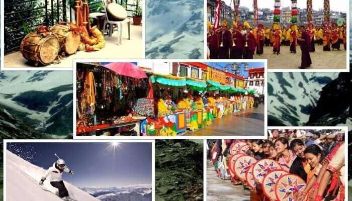 Enjoy the Winter Carnival in Manali, a merry combination of bright colours, dance and folk music