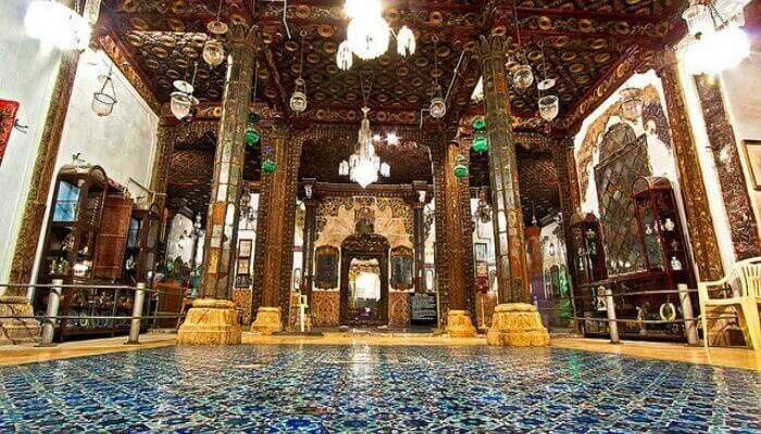 Lose yourselves in the bewitching architecture of Aina Mahal Palace in Bhuj holidays Places gujarat india