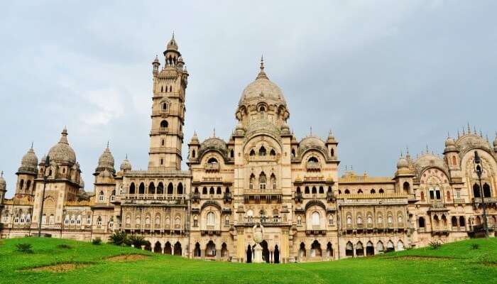 The magnificent Laxmi Vilas Palace awaits your arrival holidays Places gujarat india