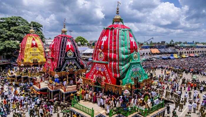 Rath Yatra celebration in Gujarat